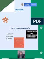 Tipos de Comunicacion Grupo # 6