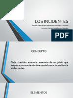 Los Incidentes
