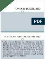 UTEROTONIK & TOKOLITIK