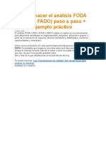 Cómo hacer el análisis FODA.docx