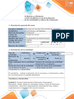 Guía actividades y rúbrica evaluación - Tarea 2 -  Proceso Administrativo- Planeación- Organización (1).docx