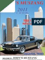 John's Mustang 2011 Classic Ford Mustang Catalog