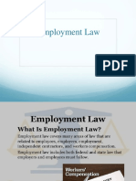 IML Lecture 9A_Employment Law and Miss Conduct