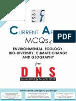 DNS Env Eco Mcqs 2019