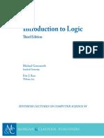 Michael Genesereth, Introduction to Logic-Morgan (2017)