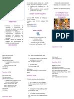 110 Folder Semana de Pedagogia 2008