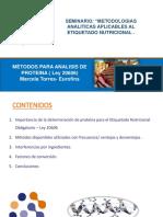 4 M Todos Proteina Lic. Q. Marcela Torres