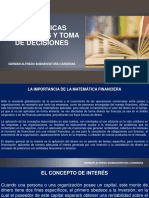 Matematicas Financieras y Toma de Decisiones