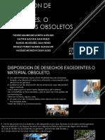 DISPOSICION DE DESECHOS, EXCEDENTES, O MATERIALES.pptx