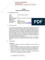 Ms413 Gestion de Proyectos