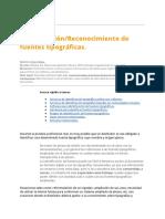 Identificación y Reconocimiento de Fuentes Tipográficas - Arturo Moya