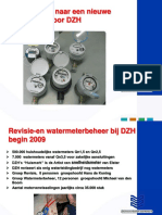 PUM New Watermeter Dunea Dutch