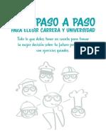 Guia Paso a Paso Para Elegir Universidad ORIENTACION VOCACIONAL