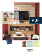 Build an Audio and Video Wall Unit