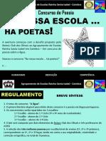 Na nossa escola há poetas!