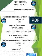 Infomatica Maira Castaño