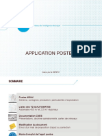 Application Postes Et Automates