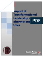 Impact of Transformational Leadership on Pharmaceutical Sales.docx