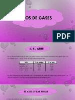 Tipos de Gases - Minería Subterránea