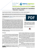 13246 Experimental Analysis of Carbon Nanotubes in Cementitious Materials Composites