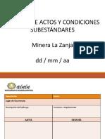 Formato de Reporte de Acto y Condición
