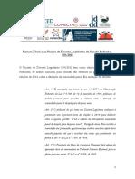 Parecer Técnico - Redução Da Idade Penal Plebiscito - Versão Final (1)