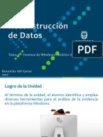 Tema 4.1.3 - Reconstrucción de Datos