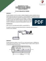 Ejercicios de Flujo Laminar y Turbulento Grupo Bd
