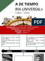 Linea de Tiempo Historia Universal Gloria