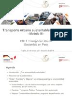 3. Transporte Urbano Sustentable en El Mundo