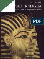 Alfred Ernest Volis Badz - Egipatska Religija