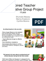 Inspired Teacher Collaborative Group Project ITL600