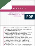 Caso Clinico Hernia Discal