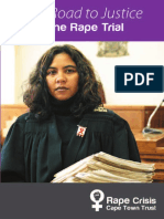 Rape Crisis the Rape Trial Booklet