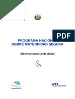 03092012 Programa Nacional Maternidad Segura Final