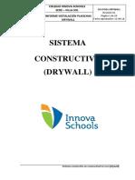 Informe - Sistema Contraplacado Con Drywall