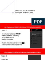 Manual de Instalacao ANDROID IOS MG3610 G3100