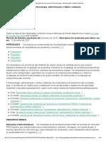 Moduladores de Serotonina_ Farmacologia, Administração e Efeitos Colaterais