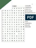Cruciletras y Sopas de Letras (1)