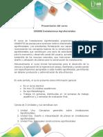 Presentación Del Curso Instalaciones Agroforestales
