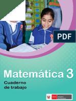 Matemática 3 cuaderno de trabajo para tercer grado de Educación Primaria 2018.pdf