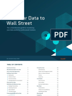 Guide to Selling Data to Wall Street