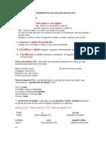 Exercícios complementares - VT VI OD OI AA VL.doc