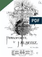 Albeniz 2 Spanish Dances Op 164