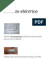 Balasto Eléctrico - Wikipedia, La Enciclopedia Libre