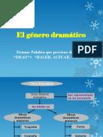 El género dramático 8° 2017.ppt