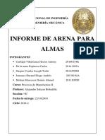 Informe de ensayos para arena.docx
