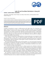 Understanding the Movable Oil and Free-Water Distribution in Heavy-Oil Sands, Llanos Basin, Colombia