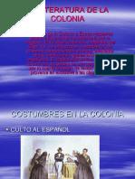 La Literatura de La Colonia[1] (1)