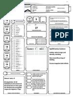 D&D 5e - Ficha de Personagem Automática (Curufin Artífice)